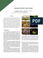 Clique - semantic image segmentation