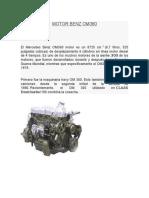 Motor Benz Om360
