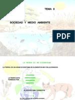 TEMA 8. Sociedad y medio ambiente. Vanesa, Ana Delia, Lidia y Ana Esther