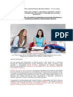ARTIGO+VEJA TEORIAS DA APRENDIZAGEM E CONSTRUÇÃO DO CONHECIMENTO