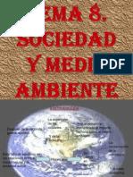 TEMA 8. Sociedad y medio ambiente. Jorge, Borja y Diego Cano