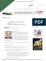 Editora JC - Lei Da Ficha Limpa e a Conjuntura Brasileira - Editora JC