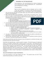 2013 - 3.1 - Presentation Skills1 Fin