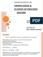CLASSIFICATION & IDENTIFICATION OF PROCESS HAZARD