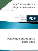 PPT Perawatan Endodontik Dan Trauma Injuries Pada Anak