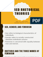 Rhetorical Theory Ch. 8