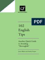 102 English Tips FINAL