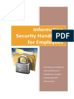 Information Security Handbook for Employees