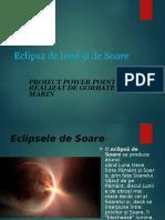 Eclipsele proiect Fizica