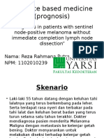 Evidence Based Medicine (Prognosis)