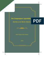 Da Linguagem Agostiniana - Em Busca Do Mestre Interior