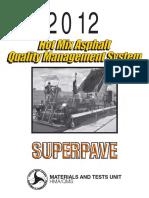2012 Qms Asphalt Manual