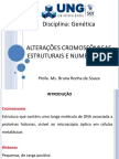 5) Alterações Cromossômicas Estruturais e Numéricas