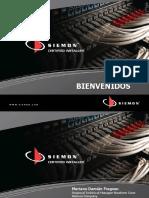 Introducción al cableado estructurado SIEMON 2012