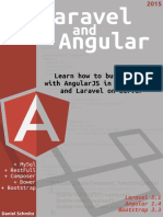 Laravel and Angularjs Sample