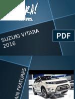 SUZUKI VITARA 2016.pptx