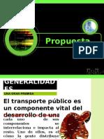 G9 Exposicion Ingenieria de Transportes UNI