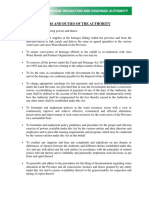 Powers and Duties of the Authority PIDA