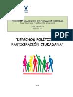 Der. Participacion Ciudadana