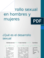 Desarrollo Sexual en Hombres y Mujeres