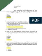 Soal to Aipki Wilayah III (Lokasi Malahayati)