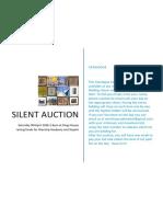 Catalogue for Silent Auction