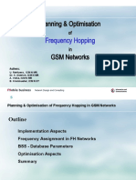 Planning and Optimization of FH in Gsm