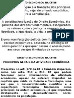 Aula 3 - Constitucionalização Do Direito Economico