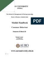 Consumer Behaviour Module -Final Handbook _1