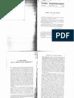 Revue Études Traditionnelles 1961