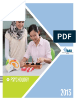 Psychology Brochure