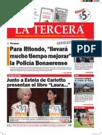 Diario La Tercera 22.03.2016