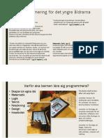 barn och programmering