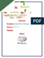 Informe Wiki