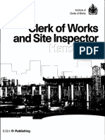 Clerk of Works and Site Inspector Handbook