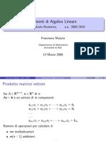 2.Elementi Di kAlgebra Lineare