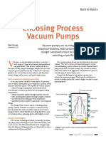 Choosing Process Vaccum Pumps