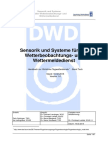 Sensorik und Systeme für den  Wetterbeobachtungs- und  Wettermeldedienst