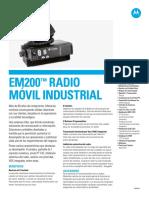 Ficha-tecnica Radio Motorola Em200