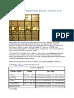 L/C DEPOSIT BOX