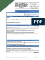 For-G-001 Formato Para Código de Ética