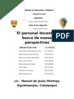 Análisis Del Texto de Jacques Delors