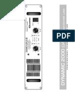 Esquema Ciclotron Dynamic 2000 4AB