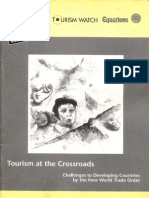 Tourism at the Crossroads Challenges to Developing Countries by the New World Trade Order