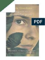 Paolo Giordano- Singuratatea Numerelor Prime (v1.0)
