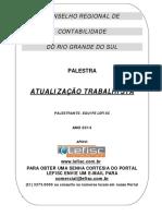 APOSTILA - ATUALIZAÇÃO TRABALHISTA
