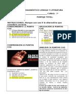 Formato Prueba de Diagnóstico
