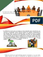 Evaluación de Las Diferentes Áreas de Responsabilidad