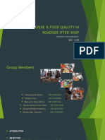 Presentation HYGIENE & FOOD QUALITY IN ROADSIDE IFTER SHOP