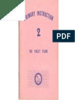 The Bridge to Freedom Primary Instruction 2